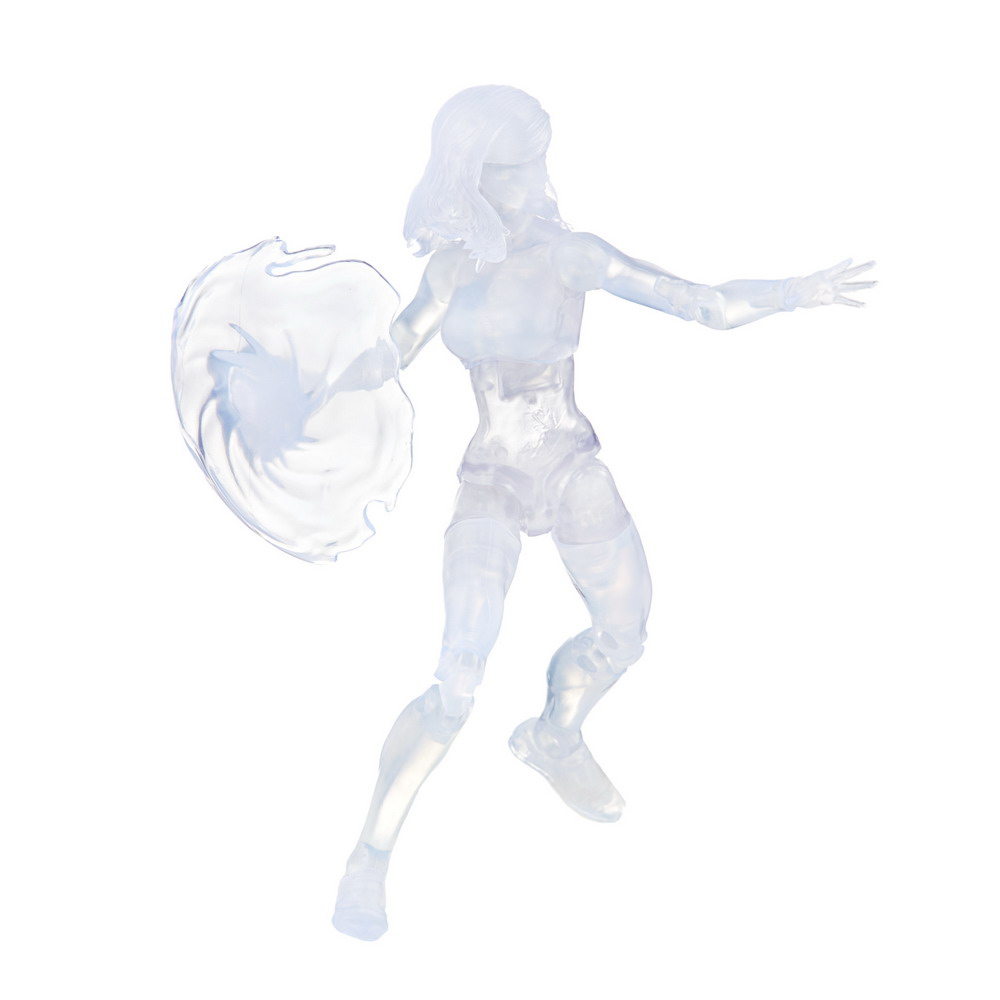 MARVEL LEGENDS SERIES 6-INCH RETRO FANTASTIC FOUR MARVEL'S INVISIBLE WOMAN Figure (Clear)_oop 3