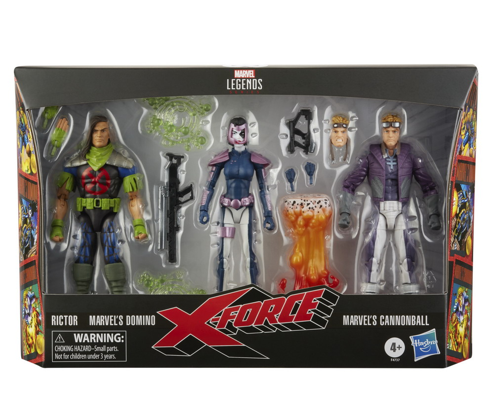 MARVEL LEGENDS SERIES 6-INCH X-FORCE Multipack_in pck 1