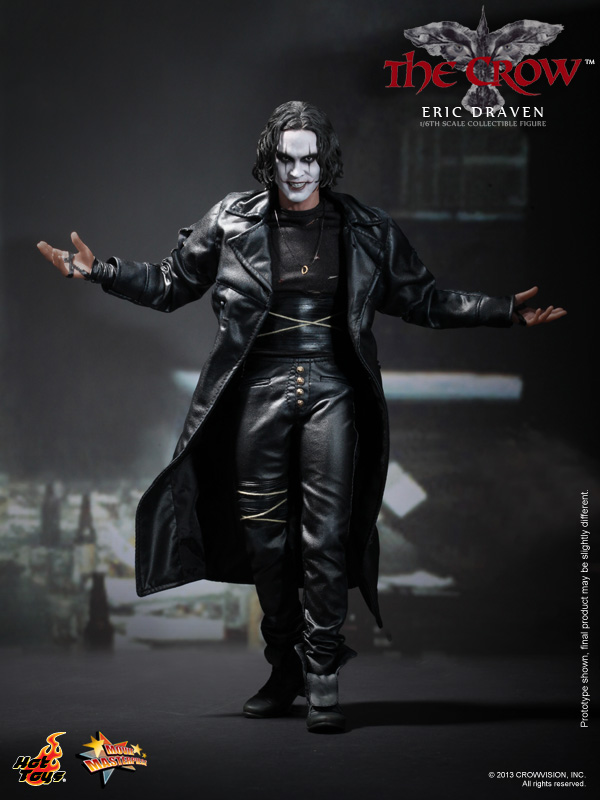 General News Hot Toys Takes On The Crow  1 6th Scale Eric