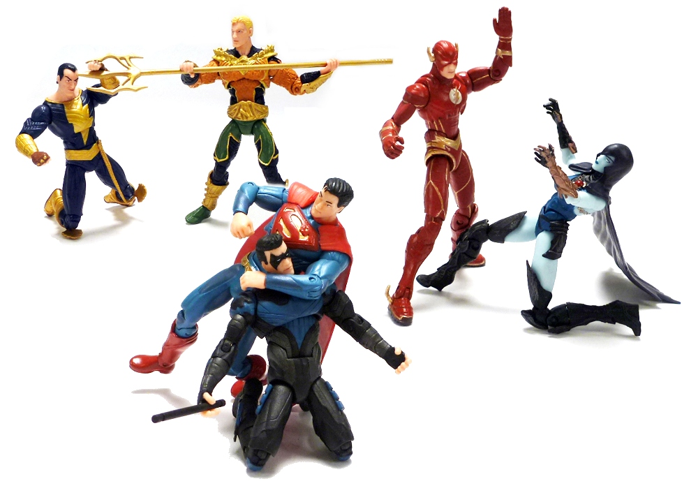 Toys For Injustice : Review dc collectibles injustice gods among us