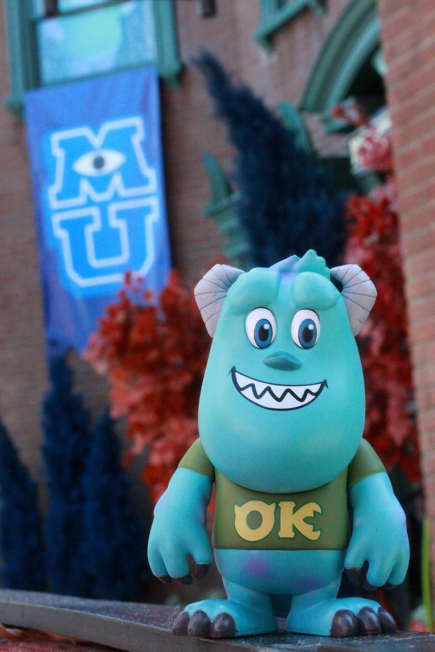 review review monsters university mini cosbabies