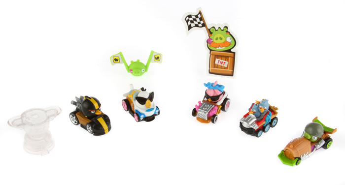 Multi-Pack Deluxe Hasbro Telepods Angry Birds Go !