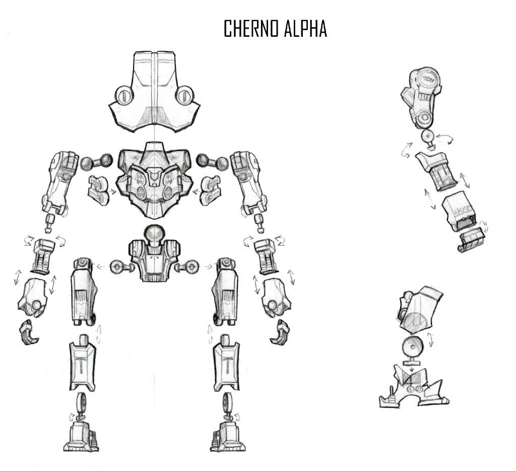 Neca necas pacific rim series 3 sneak peek cherno alpha articulation diagram for upcoming jaeger malvernweather Gallery