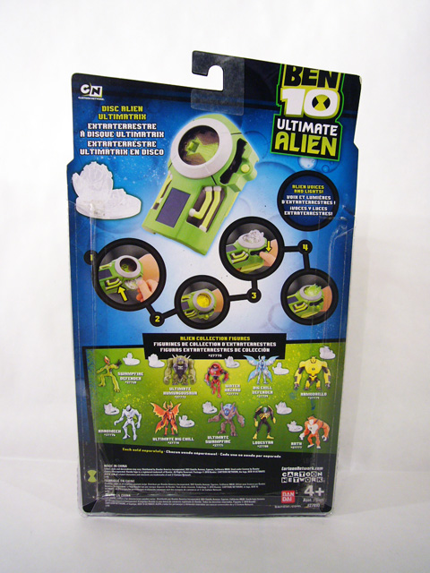 Review bandai ben 10 ultimate alien disc alien ultimatrix the new ben 10 ultimate alien disc alien ultimatrix comes packaged on a standard ultimate alien card thats very similar to the one used on the basic voltagebd Images