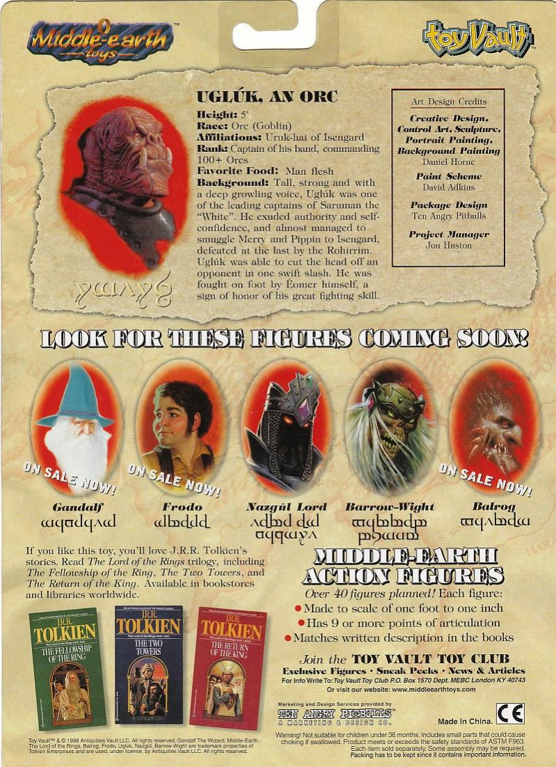 Earth Toys Toy Vault's Middle-earth Toys
