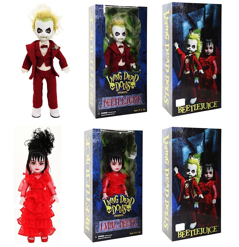 Living Dead Dolls Lydia Deetz Wide Selection; beetlejuice
