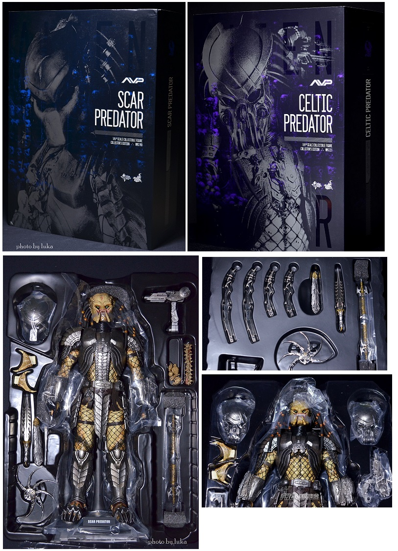 Product Review Review Hot Toys Avp Scar Predator And