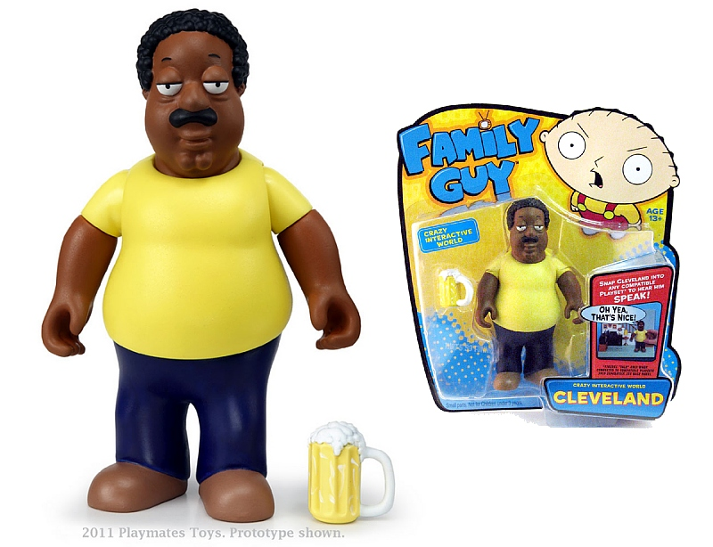 Cleveland Family Guy Toys : Playmates all new family guy toy line
