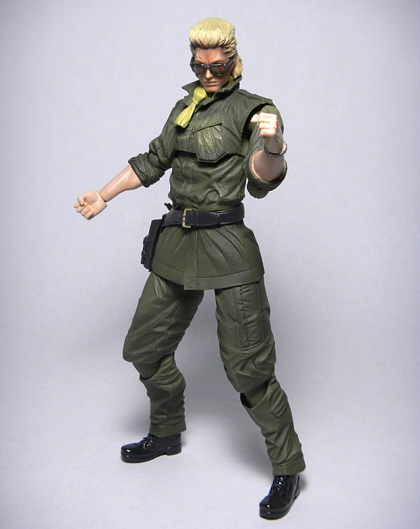 Review Play Arts Kai Kazuhira Miller I drew him happy because poor kaz deserves to be happy for once. review play arts kai kazuhira miller
