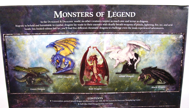 REVIEW: Wizards of the Coast D&D Dragon Collector's Set