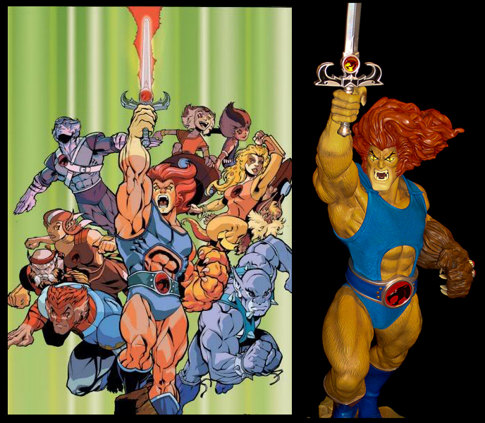 Beyond The Omens: REVIEW: Pop Culture Shock ThunderCats LION-O Mixed Media