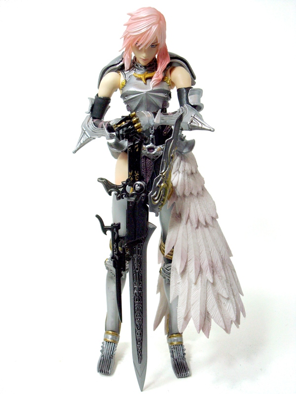REVIEW: Square Enix Final Fantasy XIII-2 Play Arts Kai ...