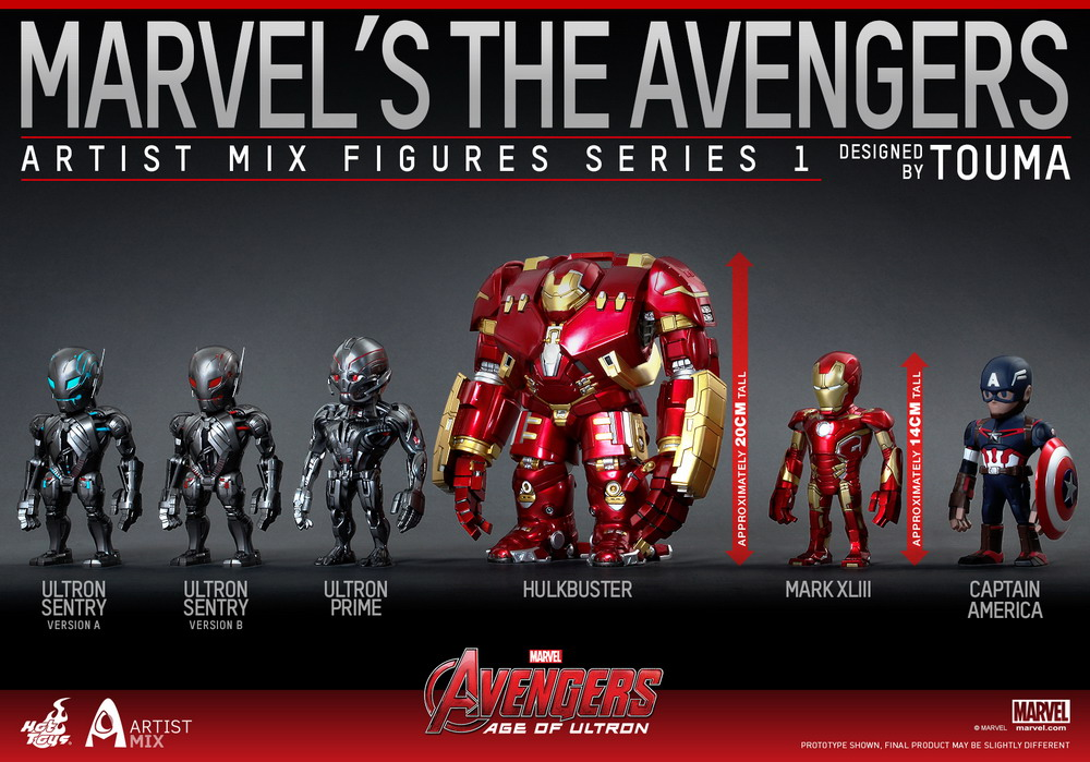 Hot Toys: Hot Toys Artist Mix Collection: Avengers Age of Ultron