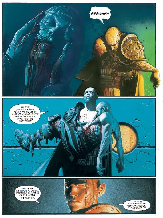 Comics Books Comic Review Humanoids Weapons Of The