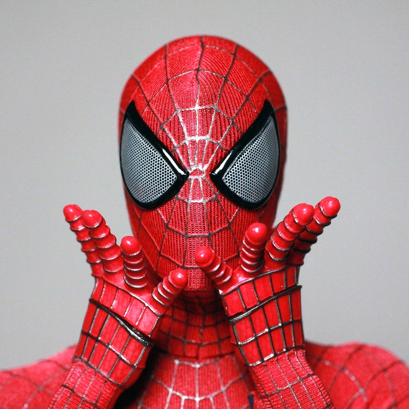 New Spider Man 2 Toys : Review hot toys the amazing spider man new photos