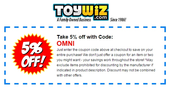 dewittfbdeters.tk Show only verified coupons? Current ToyWiz Coupons This page contains a list of all current ToyWiz coupon codes that have recently been submitted, tweeted, or .