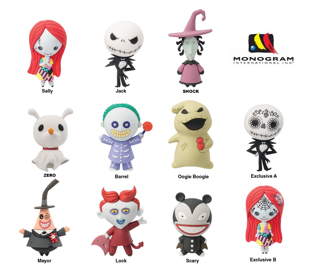 Monogram: Monogram\'s Nightmare Before Christmas 3D Foam Figural ...