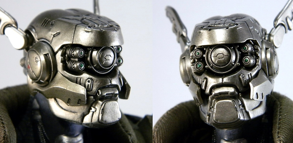 Review Review Hot Toys Appleseed Alpha Briareos Hecatonchires
