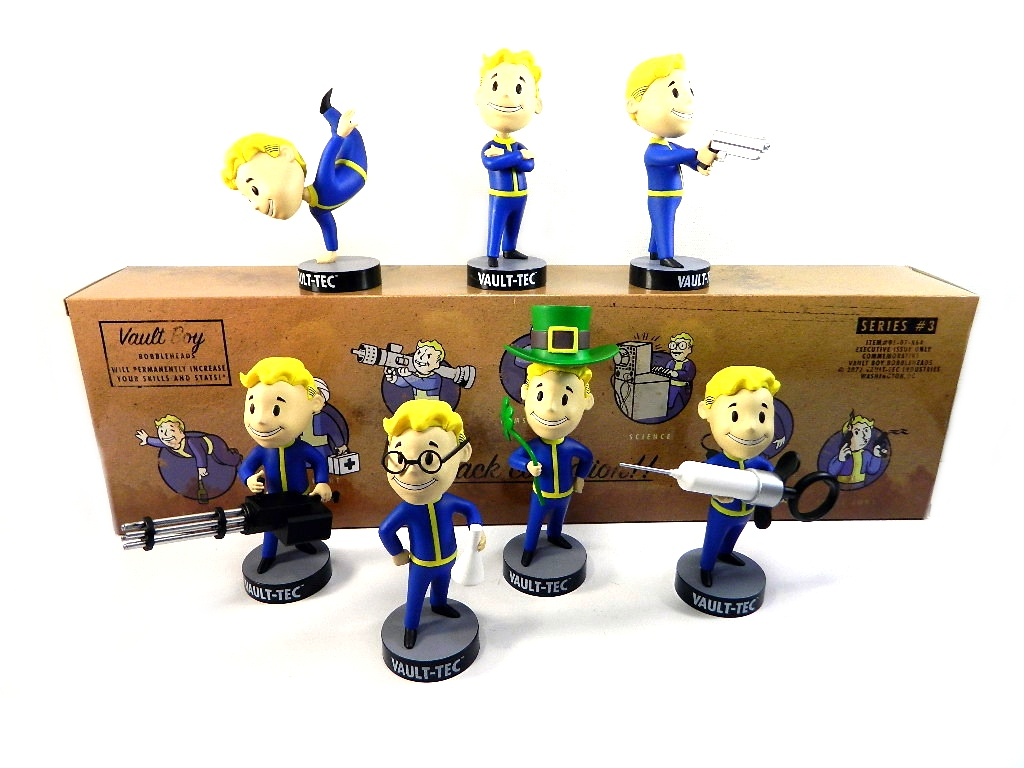 Gaming Heads Fallout Vault Boy Bobblehead Assorted
