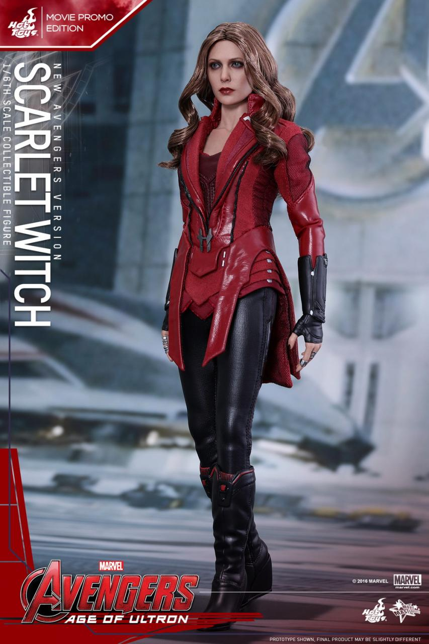 General News Hot Toys - MMS357 - Avengers: Age of Ultron - SCARLET ...
