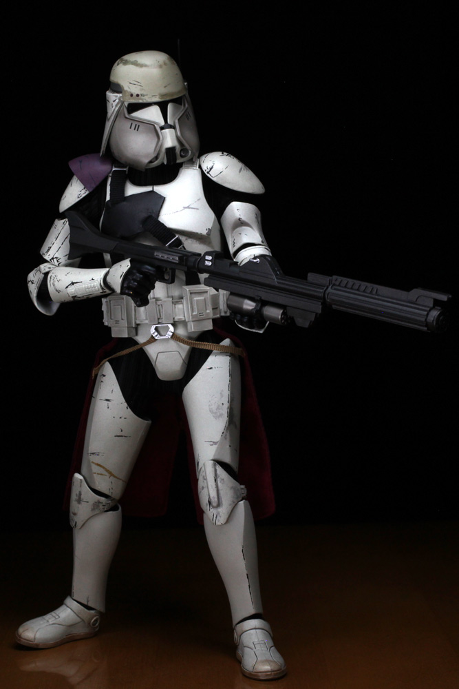 review review sideshow 16 star wars commander bacara