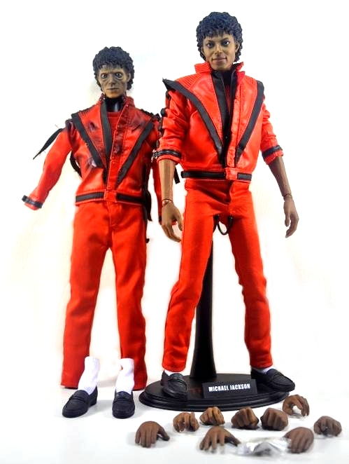 review hot toys m icon michael jackson thriller