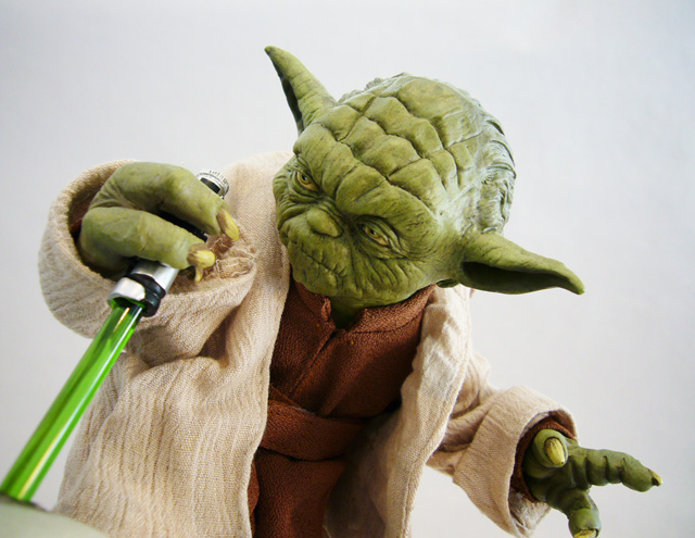 Review Sideshow Star Wars Yoda And Clone Trooper Premium Format Figure