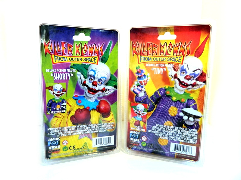 Review review amok time 39 s killer klowns from outer space for Return of the killer klowns from outer space