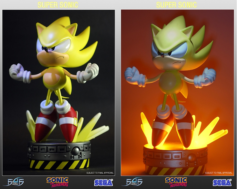 First 4 Figures New Super Sonic Statues