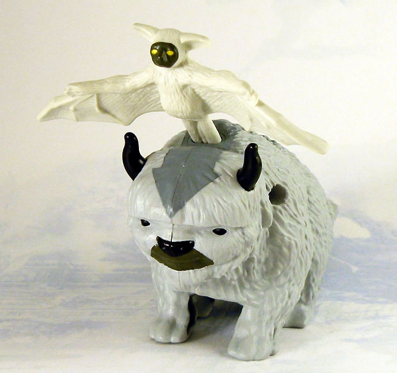 The Last Airbender Movie Appa: Movies/TV/Games: The Last Airbender Happy Meal Toys