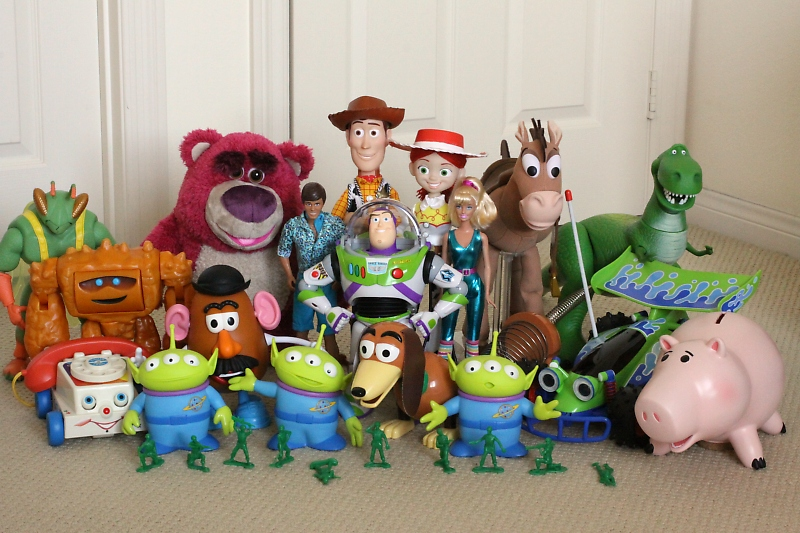 REVIEW Toy Story Collection - CHUNK And TWITCH