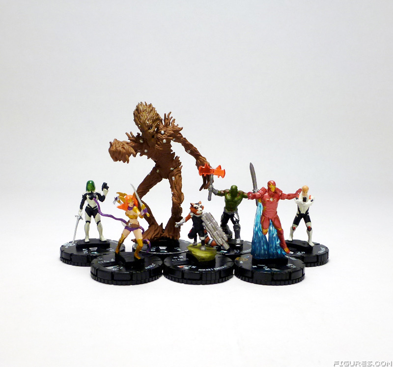 REVIEW REVIEW WizKids Marvel HeroClix Guardians Of The Galaxy
