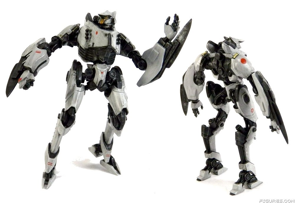 REVIEW: FIRST LOOK! REVIEW: NECA's Pacific Rim Series 4 Pacific Rim Cherno Alpha Destroyed