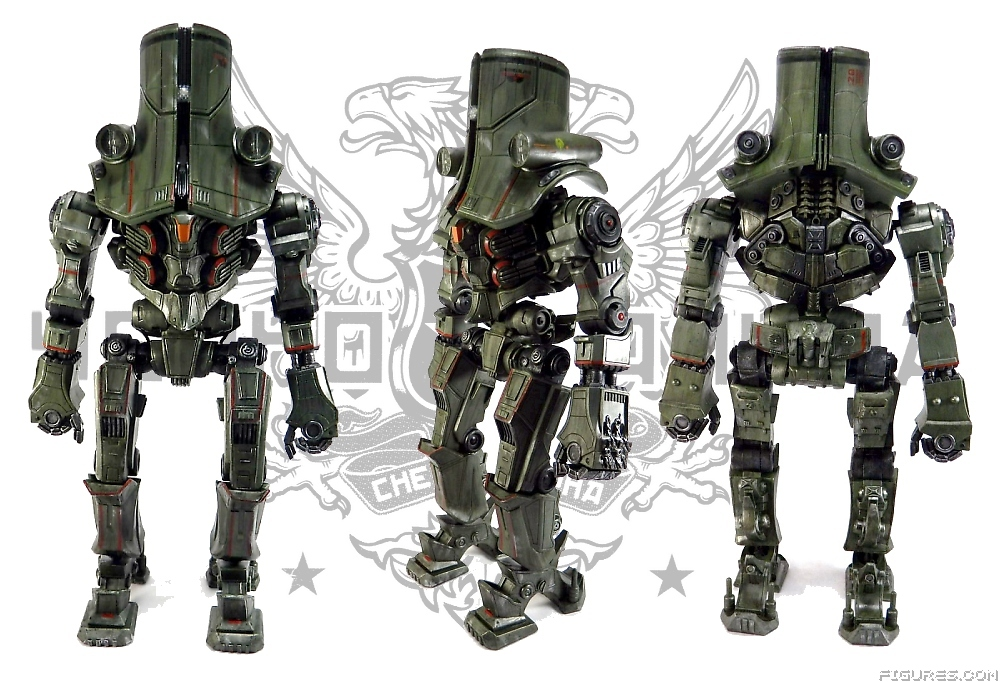 But a big action figure can  Pacific Rim Cherno Alpha Toy