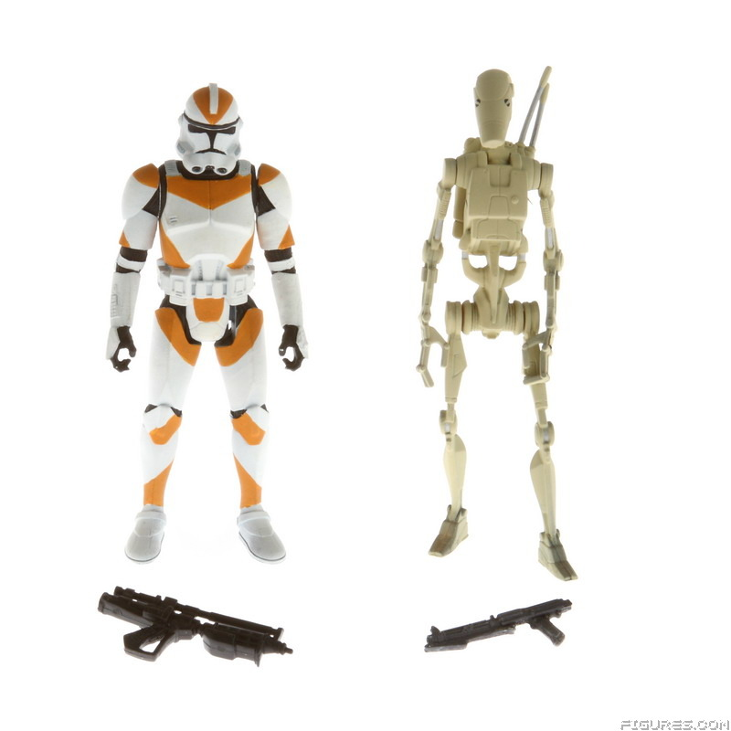 A4313_EpIII_Clone_Trooper_212th_orange_stripes_vs_Battle_Droid_tan_