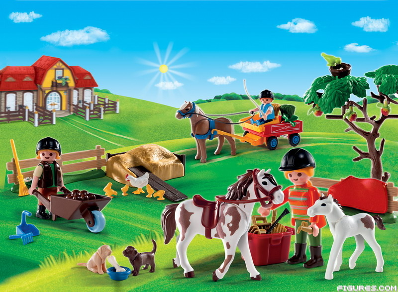 4167_-_Advent_Calendar_Pony_Farm_with_great_additional_surprises1