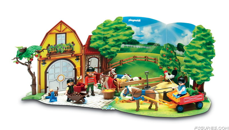 4167_-_Advent_Calendar_Pony_Farm_with_great_additional_surprises_-_Diorama