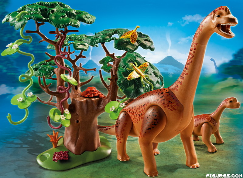 5231_-_Brachiosaurus_with_Baby1
