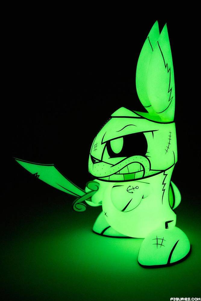 10-Inch Ghost Pirate Bunny