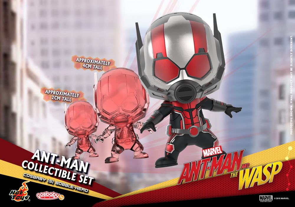Marvel Ant Man And The Wasp Hot Toys Cosbaby Series