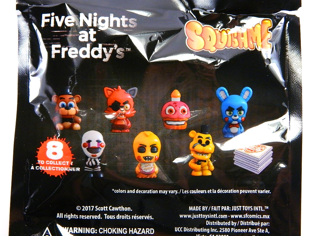 REVIEW: Five Nights at Freddy's SquishMes | Figures com