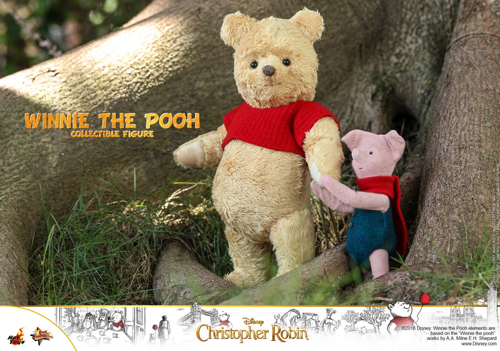 hot toys  u0026quot christopher robin u0026quot  winnie the pooh  u0026 piglet collectible figures