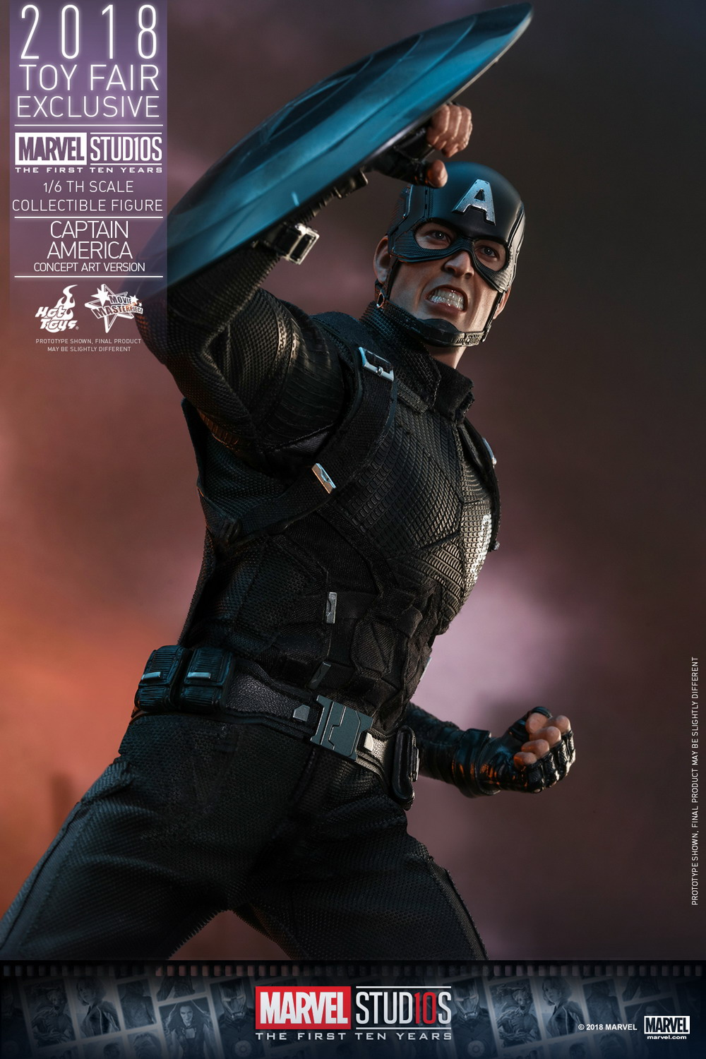 hot toys marvel studios  the first ten years 1  6 captain america  concept art version
