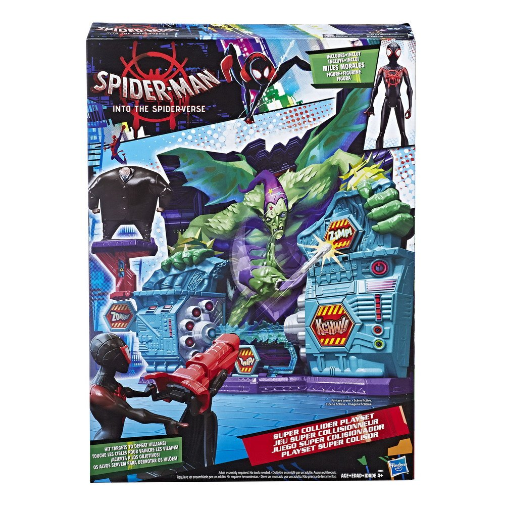 hasbros spiderman into the spiderverse toys let you