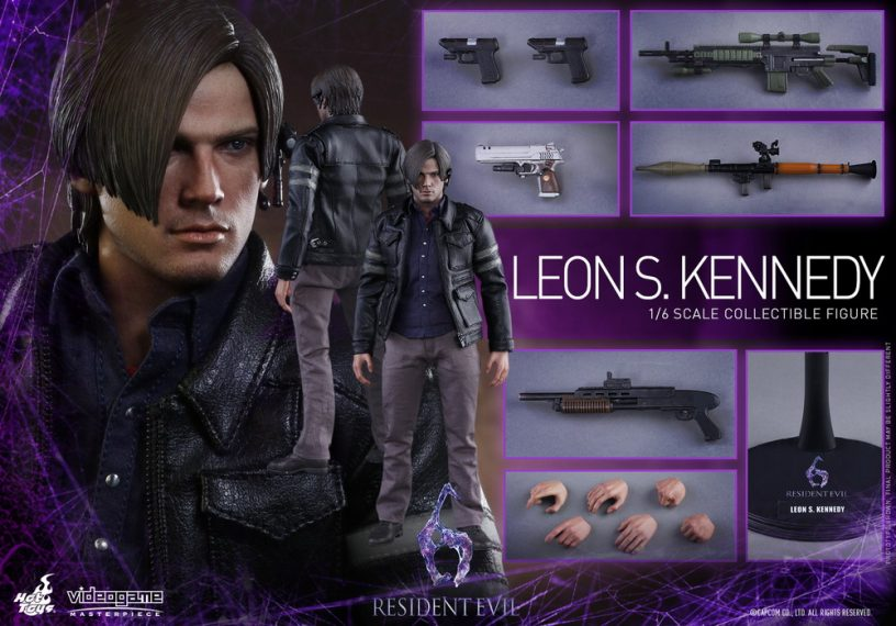 Resident Evil 6 - Leon S. Kennedy Collectible Figure PR_16