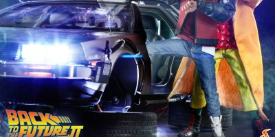 Hot Toys - Doc & Marty McFly are Coming to SDCC