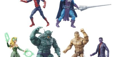 MARVEL THE RAFT LEGENDS SERIES 6-Inch Action Figure Set - oop