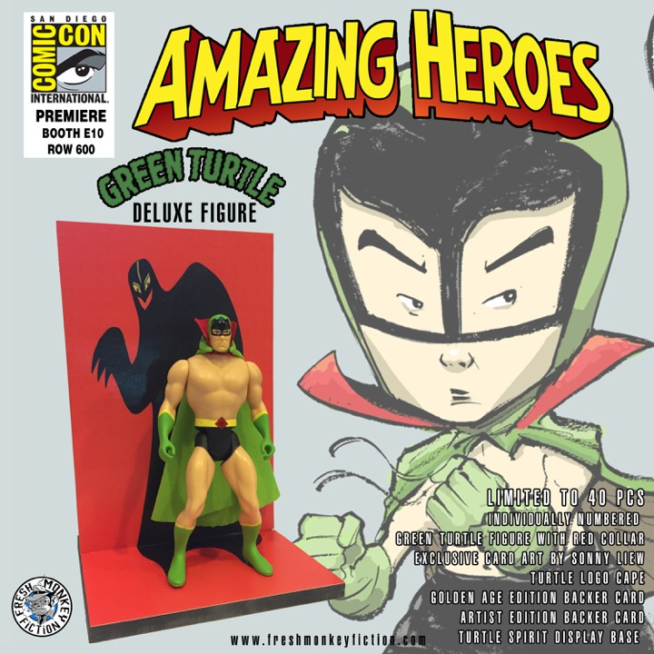 SDCC Green Turtle ver02