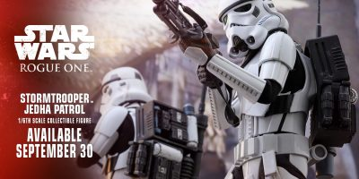 Hot Toys - Continue to Go Rogue with Stormtrooper Jedha Patrol