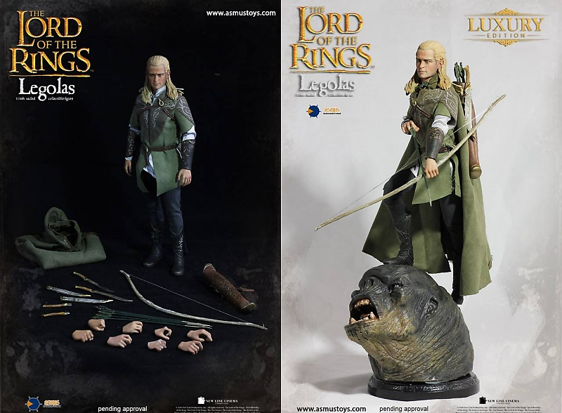 Asmus Toys Legolas LOTR010 The Lord of the Rings1//6 Action Figure Deluxe Version